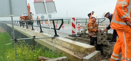 Regenbui zorgt voor problemen bij hoogwatergeul