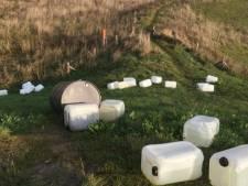 Gedumpt drugsafval aan Lekbandijk verontreinigt bodem