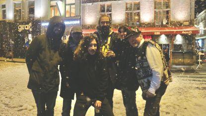 Het sneeuwt in Gent!