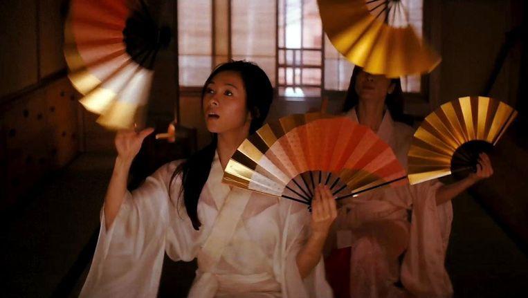 Zhang Ziyi in Memoirs of a geisha. Beeld null
