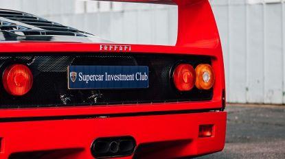 Voor 500 pond mede-eigenaar van een Ferrari of McLaren