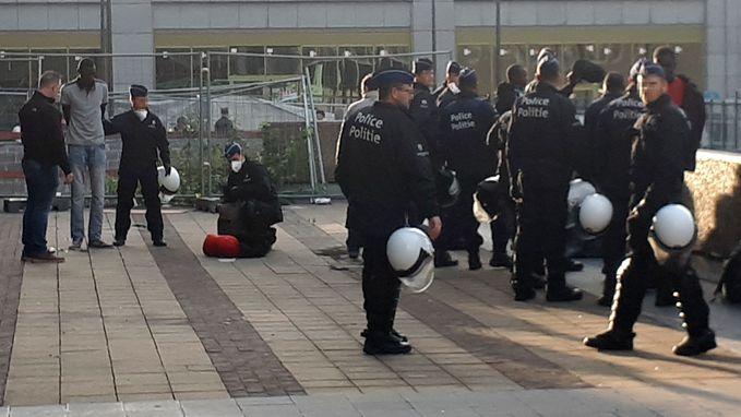 Op twee dagen tijd ruim 70 migranten aangehouden aan Brussel-Noord, onder wie 13 minderjarigen