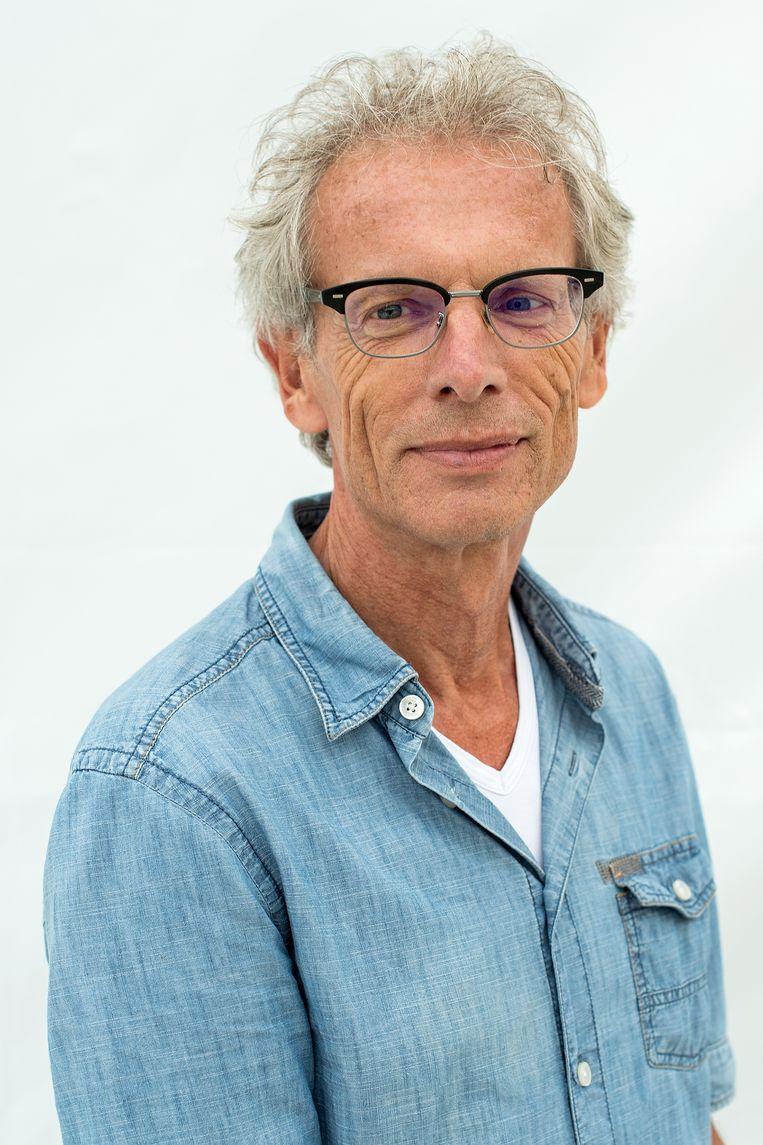 Rob Gollin, verslaggever de Volkskrant. Beeld Klaas Jan van der Weij