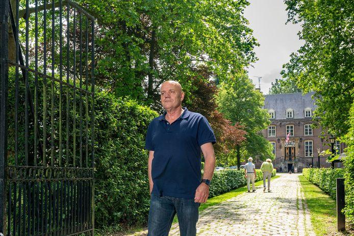 Statige lanen bij Kasteel Nemelaer. Het kasteel en landgoed zijn sinds 1964 in bezit en beheer van Brabants Landschap, maar daarvoor woonde baron Donatus er.