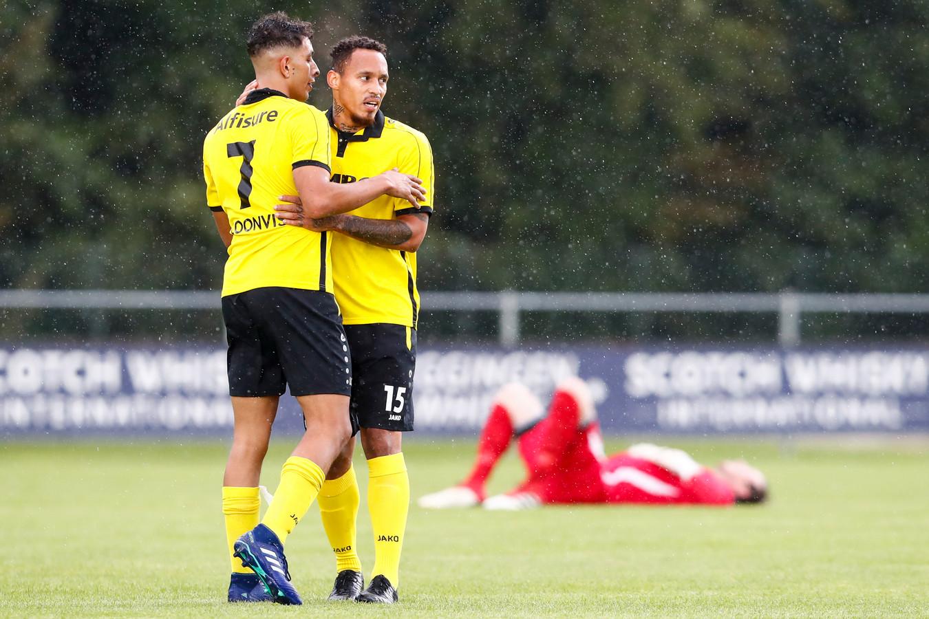 Jawad Bellahsan (7) maakte vorige week het winnende doelpunt tegen Koninklijke HFC (1-2).
