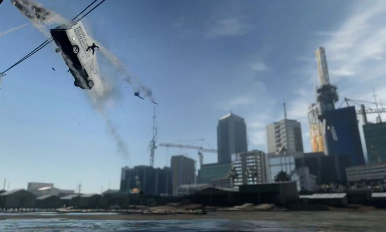 Beeld uit de trailer voor de nieuwe Call of Duty-game. Beeld YouTube / Activision