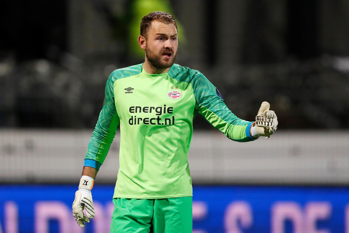 Keeper Jeroen Zoet van PSV