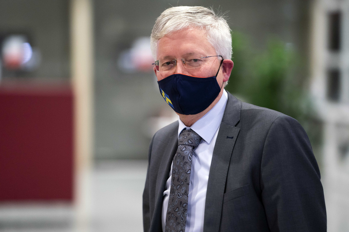Burgemeester Theo Weterings van Tilburg.
