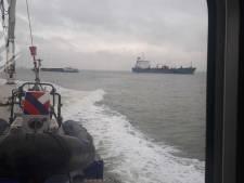 Schipper vaart in zijn eentje (en zonder vaarbewijs) met binnenvaartschip op Westerschelde