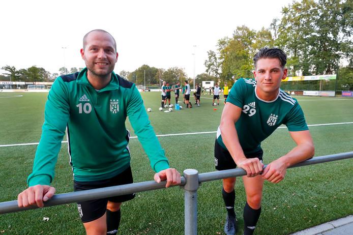 Joep Zweegers (links) en Rik Doezé.
