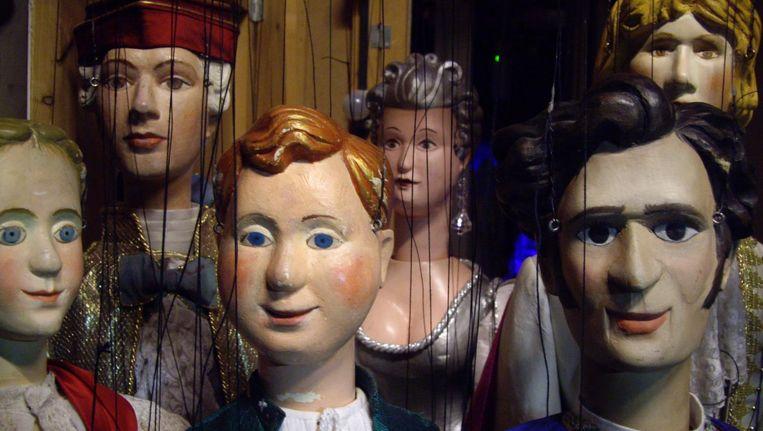 Het Amsterdams Marionetten Theater is niet zeker van het voortbestaan nu het geen subsidie meer krijgt van het AFK. Beeld Gitte Clemens