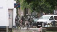 Pool die zich verschanste in woning in Kortrijk aangehouden voor bedreigingen