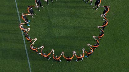 """Oranje maakt statement tegen racisme: """"Genoeg is genoeg"""""""