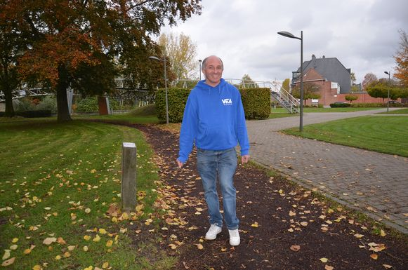 Dirk Deneys uit Ninove zal zondag deelnemen aan de marathon van Athene.