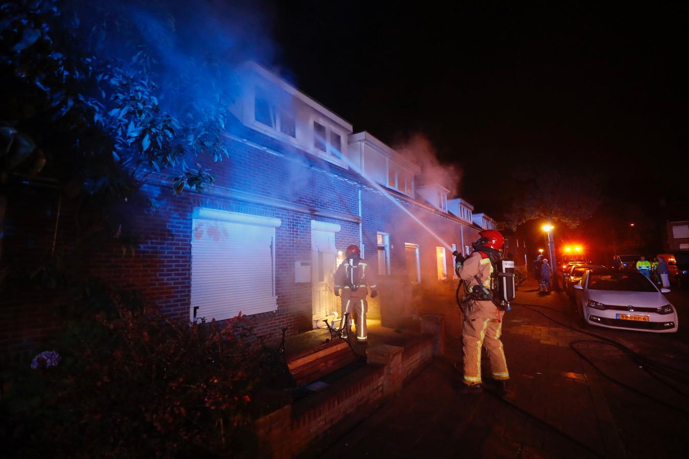 Woningbrand in Eindhoven