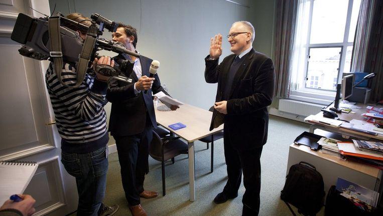 Vandaag lekte een interne mail uit van PvdA-Kamerlid Frans Timmermans. Beeld anp