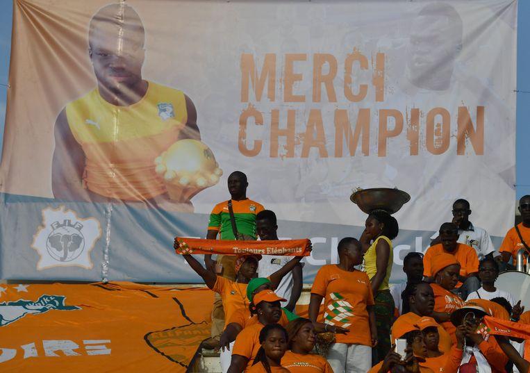 Ook het voorbije weekend werd Tioté herdacht tijdens de WK-kwalificatiematch in Bouake tegen Guinee.