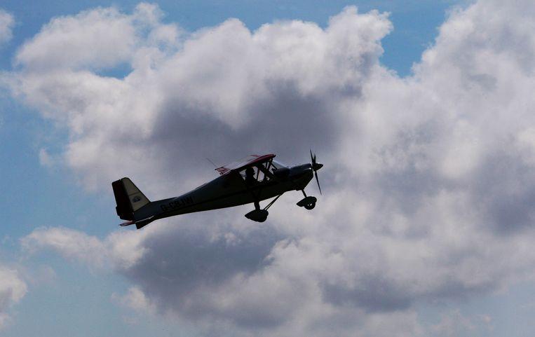 Dit is niet het sportvliegtuig dat in het Zweedse Umea is verongelukt. Beeld ANP