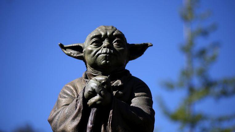 Yoda, Jedi-meester uit Star Wars. Beeld anp