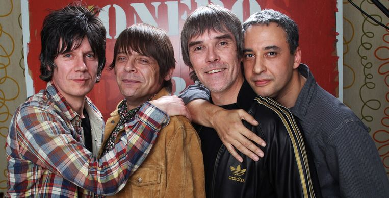 The Stone Roses. Beeld Getty