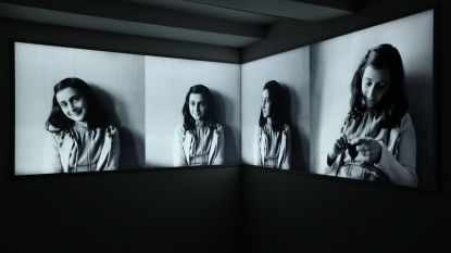 Voorzitter sp.a Limburg introduceert reizende Anne Frank-tentoonstelling als antwoord op brand in Bilzen