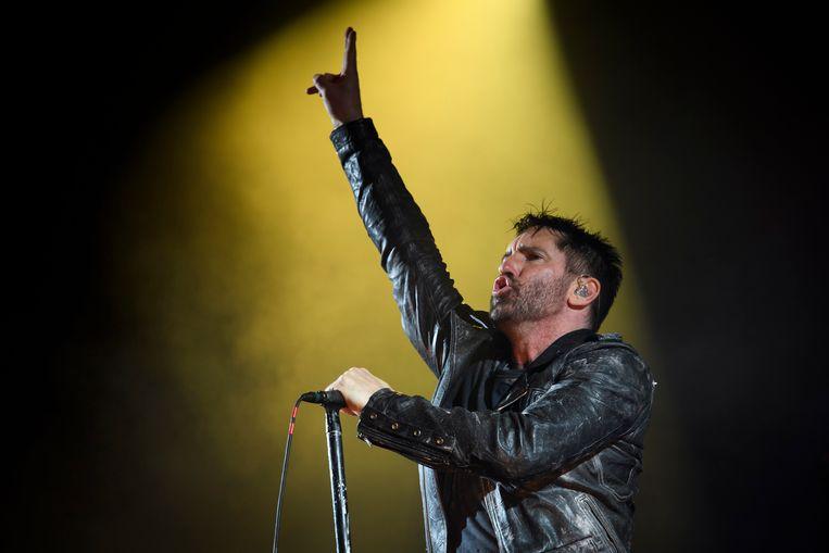 Trent Reznor van Nine Inch Nails Beeld EPA