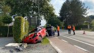 Twee gewonden bij ongeval op Liersesteenweg
