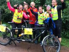 Team Tukkers fietst ruim zeven mille bij elkaar tegen Alzheimer