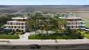 Het project omvat drie villa's, goed voor 30 appartementen
