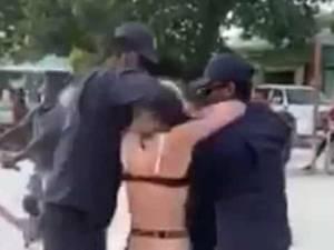 La vidéo d'une touriste rhabillée de force aux Maldives indigne