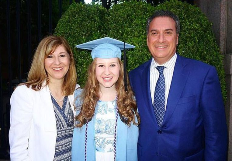 Joseph en Jennifer Cartellone met hun dochter Rebecca.