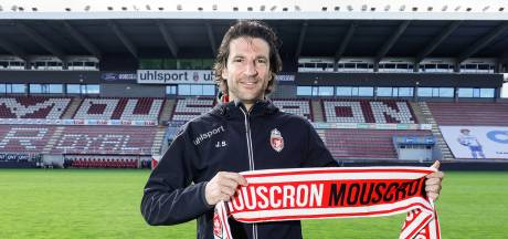 """Le nouveau coach de Mouscron: """"La D1A est intense"""""""