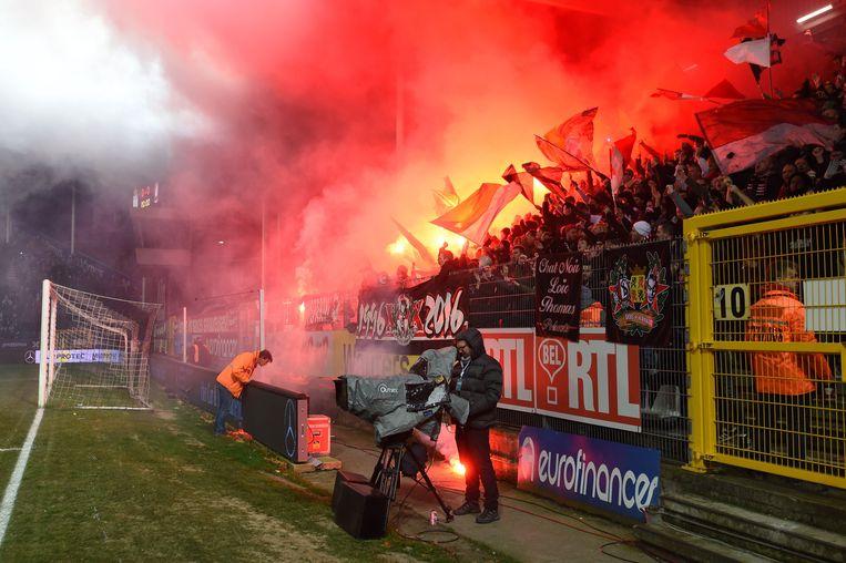 In 2016 moest ook Charleroi-Standard worden gestaakt.