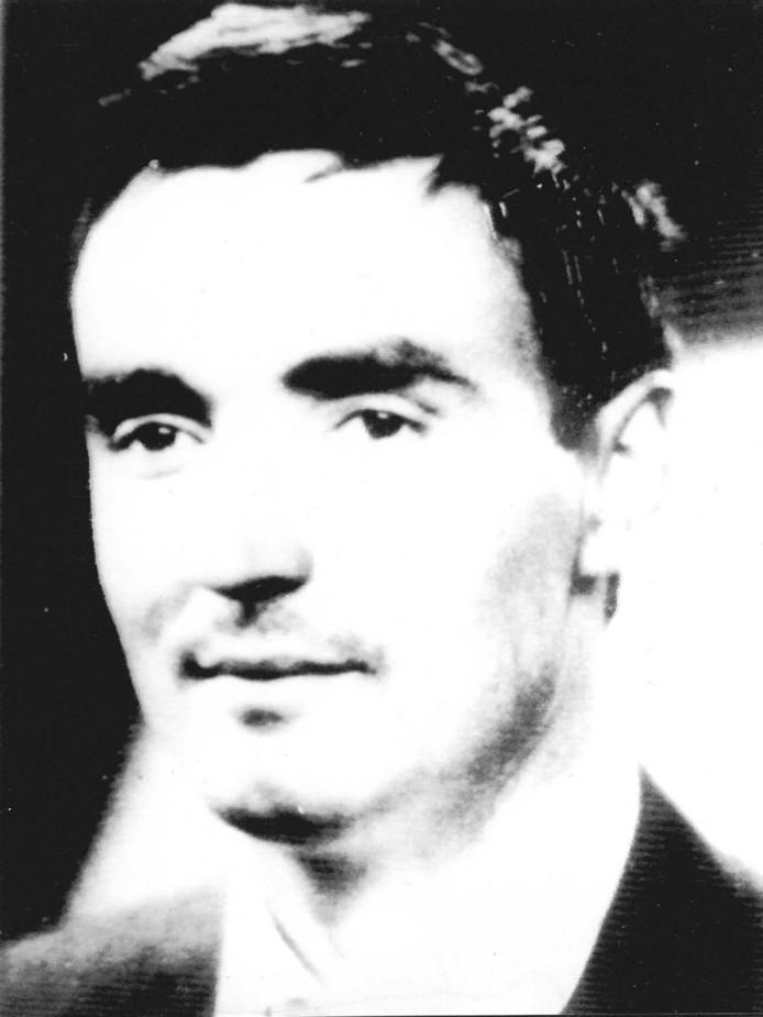 Frans M. Meijer op 31-jarige leeftijd, zonder snor .