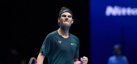 Nadal na bereiken laatste vier ATP Finals: 'Vaak arriveer je wat vermoeid, dit jaar is anders'