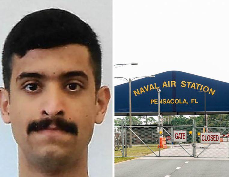 Mohammed Alshamrani (21) – lid van de Saudische luchtmacht - opende het vuur op de Amerikaanse marinebasis Pensacola in Florida.