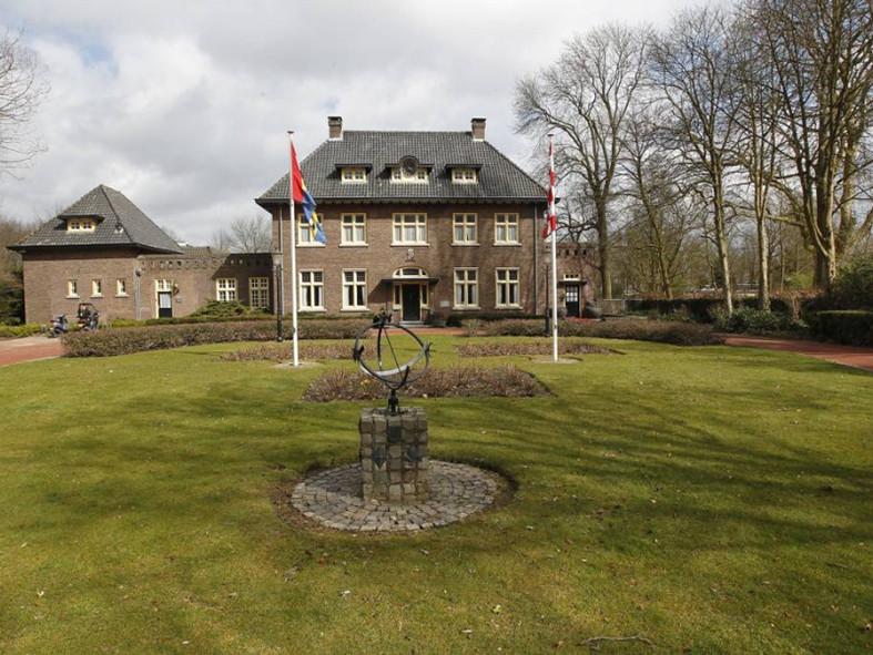 Gemeentehuis in Nuenen.