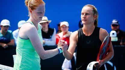 """Alison Van Uytvanck meteen out op Australian Open: """"Niet niveau gehaald dat ik wilde"""""""