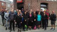 Wandelvrienden 'De Cosyntjes' op pinksterzaterdag te voet tot in Halle