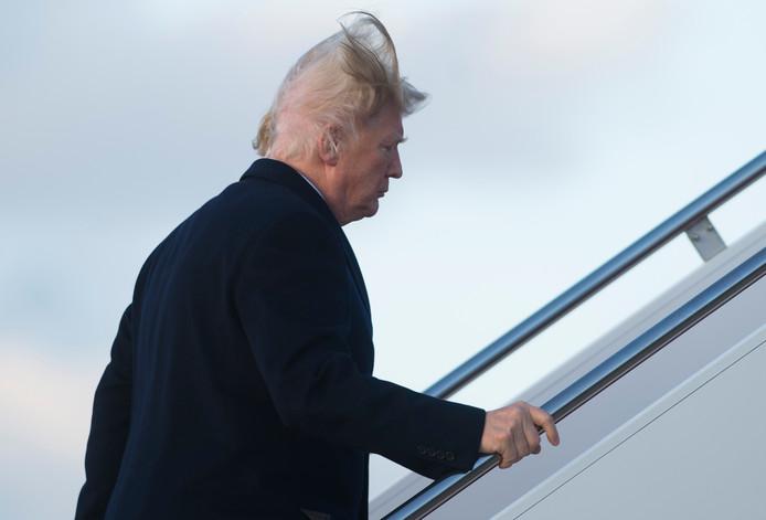 Donald Trump krijgt een harde wind in de rug die meer blootlegt dan hij wil.