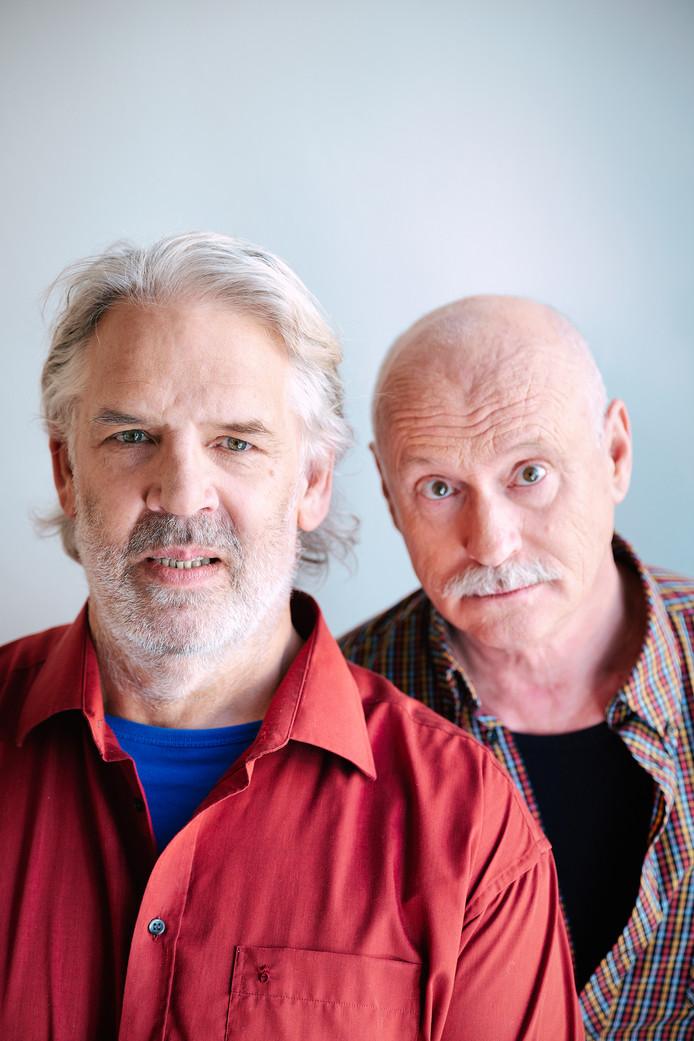 Jack Wouterse en Arjan Ederveen spelen de voorstelling ZIN.
