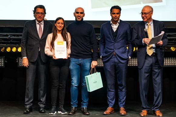 Adriana Zafiris en Frederic Castro van Soma wonnen het laureaat voor beste dessert.