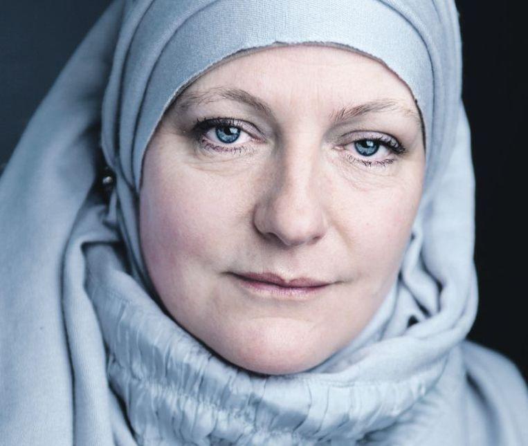 Sorayah, bekeerd in 1999 Beeld Saskia Aukema