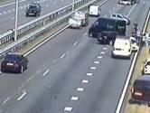 Problemen door twee ongelukken op A1 weer voorbij