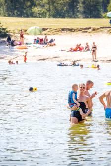 Verwachte topdrukte rond recreatieplassen Zwarte Dennen en Oldemeijer blijft uit: 'Bezoekers hielden zich aan regels'
