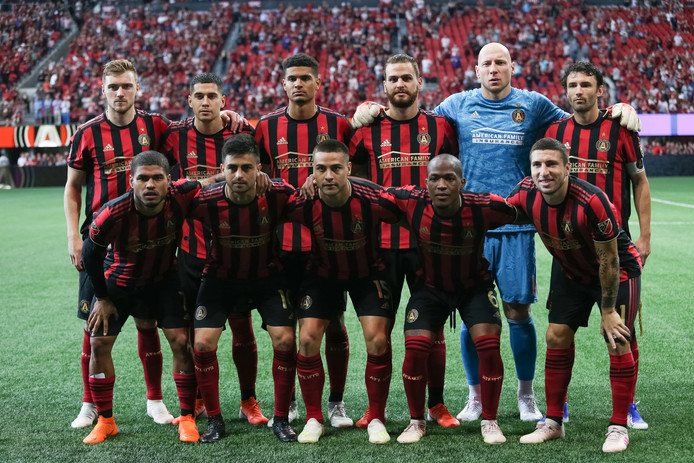 De teamfoto van Atlanta United.