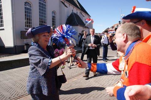 Meijer in 2012 in Veenendaal. De laatste Koninginnedag oude stijl. In 2013 volgde de troonswisseling.