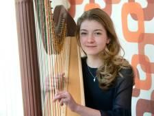 Harpiste Merle van der Lijke won tweede prijs Prinses Christina Concours: 'Bizar dat ik in de finale stond'