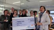 Open Therapeuticum krijgt cheque van 11.425 euro
