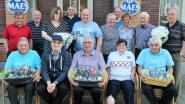 Adelin en Dirk vormen een kampioenenduo bij prognostiekclub Oud-Gemeentehuis